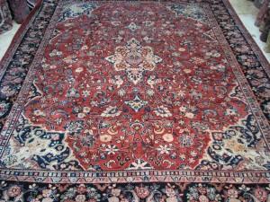 111111 Semi-Antique Persian Mahal 10.5x13.3