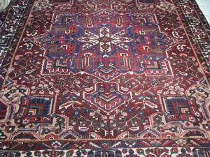 Semi-Antique Persian Bakhtiari 10.7x11.7
