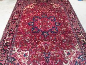 Persian Heriz 7.4x9.4