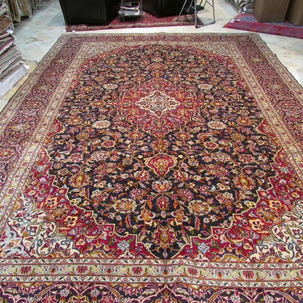 5741 Persian Kashan 9.6x13.9