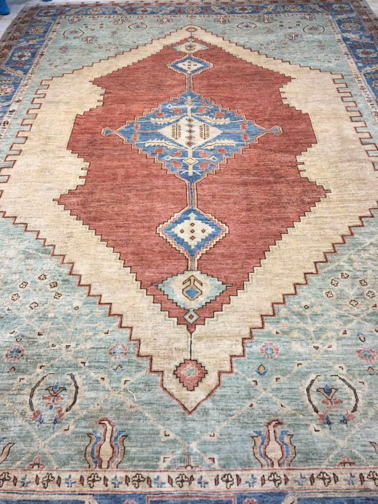 6520 Pakistani Serapi 9.10×14