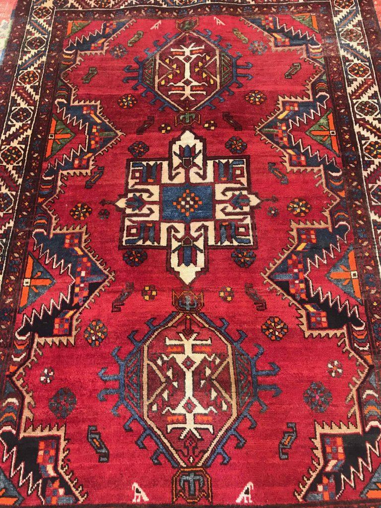 "949 Persian Karajeh 3'9""x5'6"""