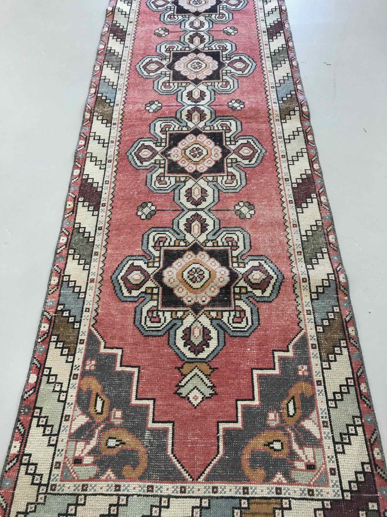 """3514 Vintage Turkish 3'x9'4"""""""