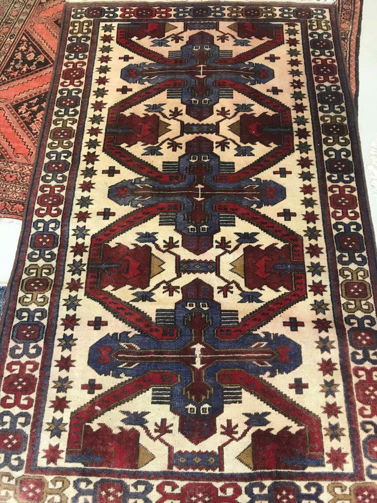 "Afghan Kazak 3'6""x5'11"""