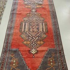 "3583 Turkish Oushak 3'3""x10'10"""